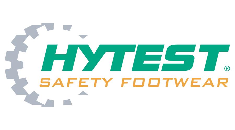 HyTest Safety Footwear Logo Vector